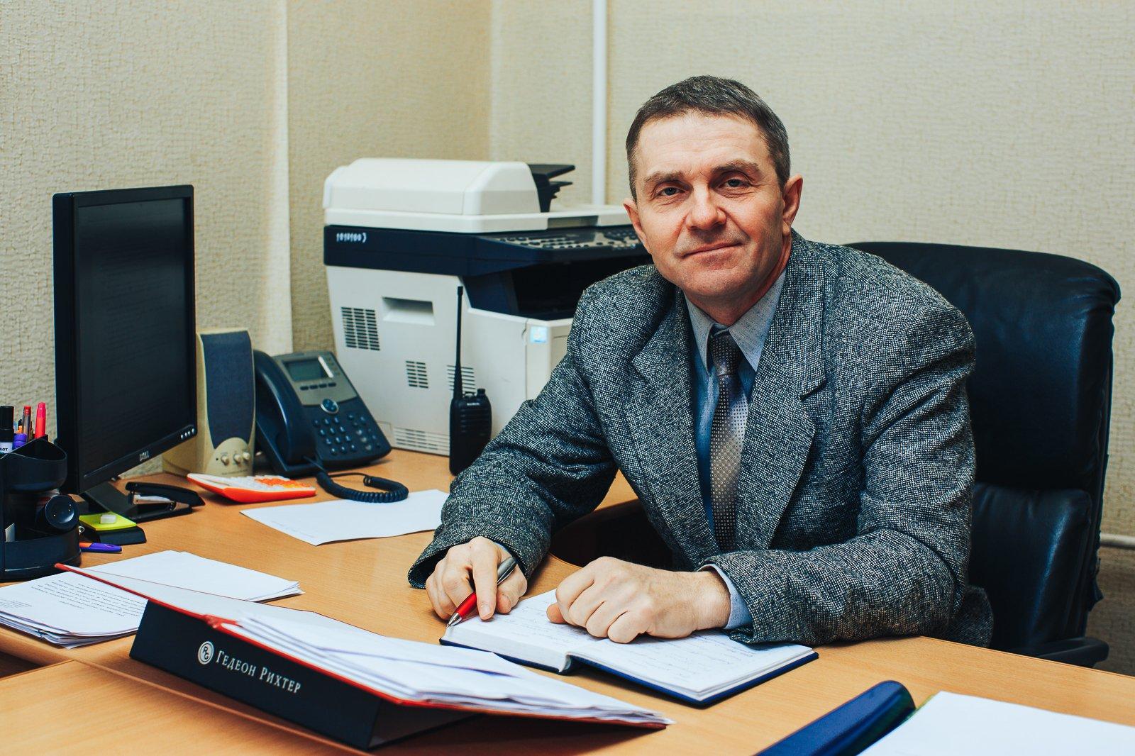 Начальник службы М.Л. Напольских